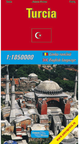 Harta Rutiera Turcia