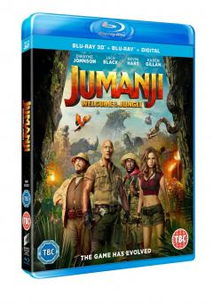 Jumanji: Aventura in jungla 2D+3D (Blu Ray Disc) / Jumanji: Welcome to The Jungle