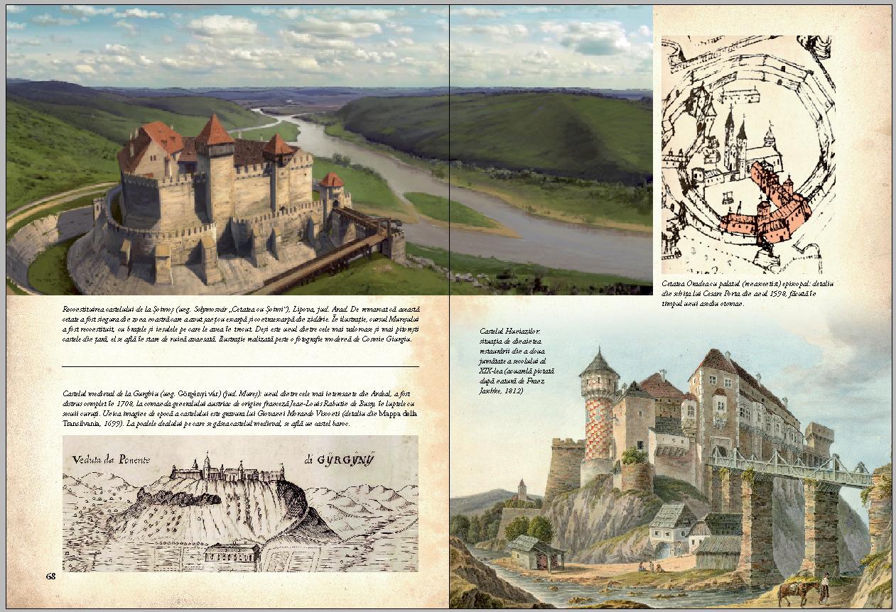 Cetati Castele Si Alte Fortificatii Din Romania