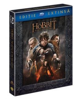Hobitul - Batalia celor cinci ostiri - Editie extinsa (Blu Ray Disc) / The Hobbit - The Battle of the Five Armies - Extended Edition