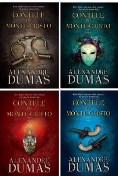 Contele de Monte-Cristo (4 vol.)