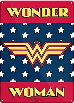 Placuta metalica - Wonder Woman Logo