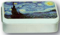 Cutie metalica - Vincent Van Gogh La Nuit Etoilee 1889