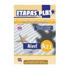 Etapas Plus A2.1. Intercambios y Tópicos- Libro del alumno + libro ejercicios + CD
