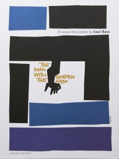 20 Iconic Film Posters by Saul Bass - mai multe modele