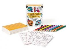 Kit - Sugar Skulls Coloring