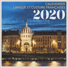 Calendar 2020 - Calendrier langue et culture francaises - Plus belle la ville