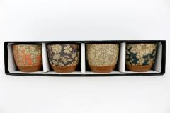Set 4 cani - Tea cup Tajimi
