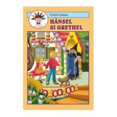 Hansel si Grethel (carte de colorat)
