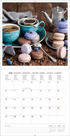 Calendar 2020 - Medium - Coffee and Chocolate