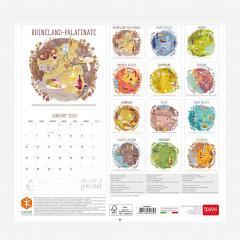 Calendar 2020 - Medium - Wine and Dine