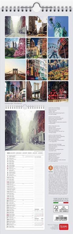Calendar 2020 - New York