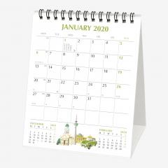 Calendar 2020 - World Cities