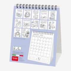 Calendar 2020 - Sketchy Cats