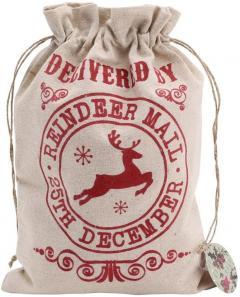 Sac pentru cadouri - Reindeer Mail Christmas