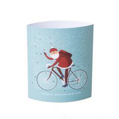 Lampa din hartie Dreamlights - Santa Bike