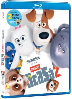 The Secret Life of Pets 2 / Singuri acasa 2 (Blu-Ray Disc)