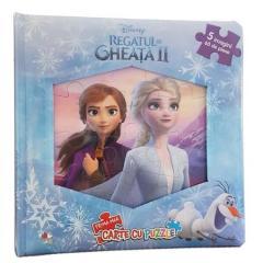 Regatul de gheata II (Frozen II). Prima mea carte cu puzzle