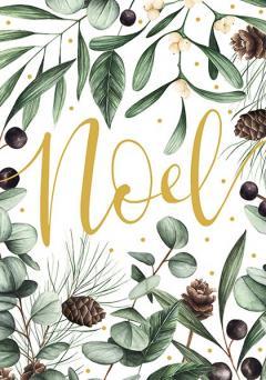 Felicitare de Craciun - Frosted Noel