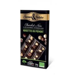Ciocolata neagra cu alune - Table Noir Noisette Bio