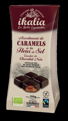 Bomboane cu caramel sarat - ballotin caramel sale Bio