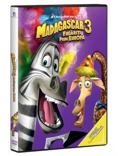 Madagascar 3: Europe's Most Wanted / Madagascar 3: Fugariti prin Europa
