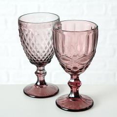 Pahar de vin - Aurora Pink - mai multe modele