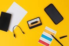 Difuzor Bluetooth - Wireless Cassette