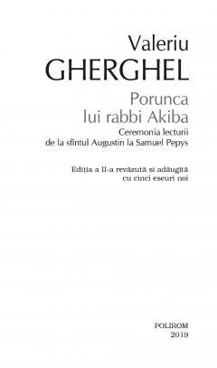 Porunca lui rabbi Akiba