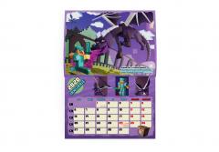 Calendarul fanilor Minecraft 2020