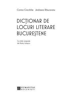 Dictionar de locuri literare bucurestene