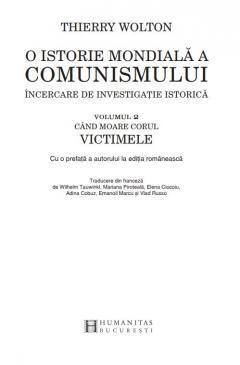 O istorie mondiala a comunismului, Volumul II