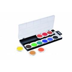 Acuarele pentru artisti - Opac 12 culori - 30 cm