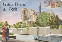 Suport masa- Paris Notre Dame