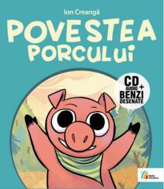 Povestea porcului: Carte + CD