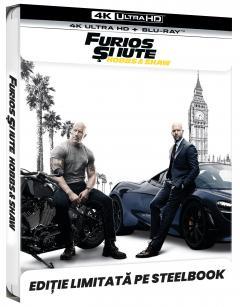 Furios si iute: Hobbs & Shaw (4K Ultra HD) Steelbook / Fast & Furious Presents: Hobbs & Shaw