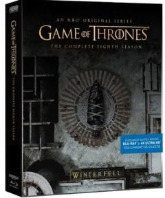 Urzeala Tronurilor - sezonul 8 (Steelbook, Blu-Ray + 4k UltraHD)