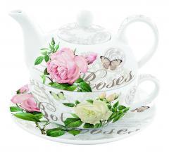 Set de ceainic cu ceasca - Tea For One - Jardin Botanique