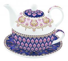 Set de ceainic cu ceasca - Tea For One - Atmosphere Peacock