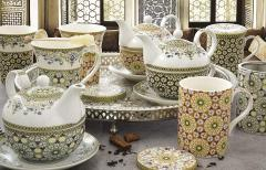 Set de ceainic cu ceasca - Tea For One - Atmosphere Marocco Black