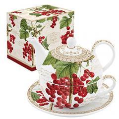 Set de ceainic cu ceasca - Tea For One - Jardin D`Hiver