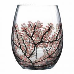 Pahar - Pink Cherry Blossom