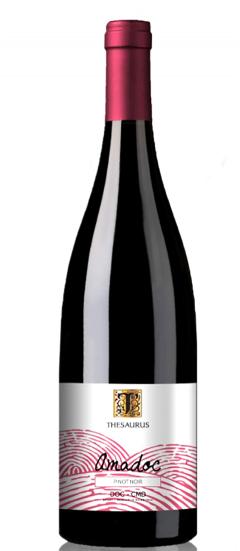 Vin rosu - Amadoc, Pinot Noir, sec,  2018