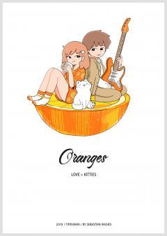 Oranges. Love+Kitties