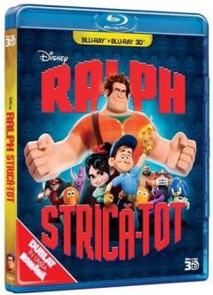Ralph strica-tot 2D+3D (Blu Ray Disc) / Wreck-It Ralph