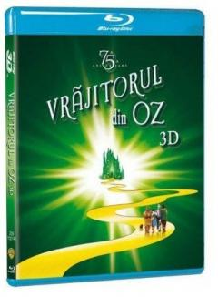 The Wizard of Oz / Vrajitorul din Oz - A 75-a Aniversare Blu-Ray 3D+2D