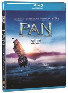 Pan: Aventuri in Tara de Nicaieri 3D (Blu Ray Disc) / Pan