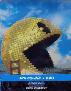 Pixels - O aventura digitala 3D (Blu Ray Disc) + DVD / Pixels