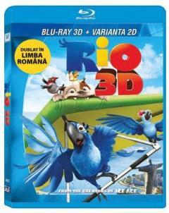 Rio (Blu Ray Disc) - combo 2D+3D