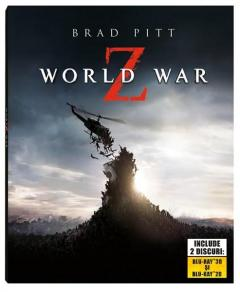 Ziua Z: Apocalipsa / World War Z Blu-Ray 2D+3D steelbook